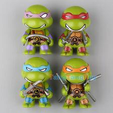 New 4Pcs/Set Teenage Mutant Ninja Turtles Action Figures Toys Classic Collection