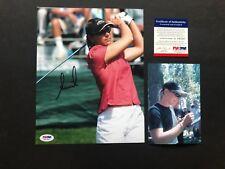 Annika Sorenstam Hot! signed autographed LPGA golf 8x10 Photo PSA/DNA coa