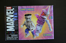 Marvel Universe Mini Mates Grey Hulk & Rhino