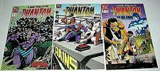 PHANTOM THE GHOST WHO WALKS #8 #9 and #10  DC COMICS 1989