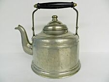ANTIQUE  SILVER PLATE ON COPPER (or BRASS?) U.S.S.#24 LARGE TEA POT (MOVIE PROP)