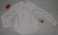 ✿❀ Haut top tunique chemisier blouse SOIE femme ✿❀ H&M ✿❀ Taille 38 M