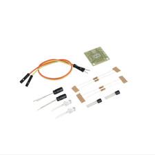 Transistor Multivibrator Simple LED Flash Circuit Kit With Battery Holder