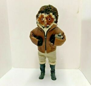 """Vintage Abercrombie & Fitch The London Owl Company """"The Aviator"""" Doll Clipboard"""