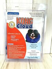 "KONG Cloud Dog Inflatable Protective Dog Collar Size Medium Neck Size 10"" - 14"""