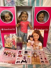 "NEW American Girl ISABELLE 18"" Doll of Year 2014 Pink Highlights Book +2 Bonuses"