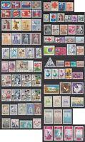 """Motiv-Lot mit 89 Briefmarken """"Rotes Kreuz"""" und """"Roter Halbmond"""" - bitte ansehen."""