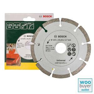 Bosch 125mm Diamond Cutting Disc / Blade - For Construction Material