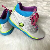 Zumba Energy Push High Top Shoes Trainer Shoes Women's Size 9