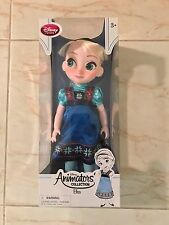 Disney Store AUTHENTIC Animators Collection Elsa Doll Frozen TODDLER 16""