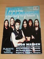 Metal Hammer magazine 6 2000 * Iron Maiden on cover * Slayer * Him * Pearl Jam