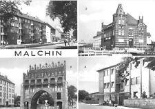 AK, Malchin, vier Abb., u.a. Postamt, 1984