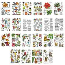 Halloween Christmas Clear Stamps Stencil Diy Scrapbooking Paper Crafts Embossing
