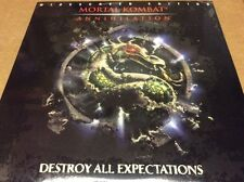 Mortal Kombat Laserdisc LD Widescreen NEW SEALED