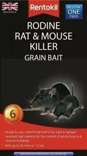 Rentokil Rodine Rat & Mouse Killer Grain Bait 6 Sachet  [8469]