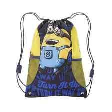 Sac de sport piscine chaussures MINIONS jaune bleu Minion neuf