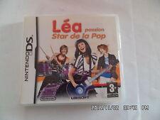 JEU NINTENDO DS  : LEA PASSION STAR DE LA POP  J47