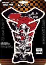 Keiti Protector de la etiqueta engomada de la Almohadilla De Tanque De Motocicleta Universal Graffiti Payaso KT8730