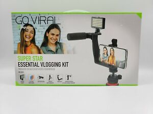 Go Viral Digipower Super Star Essential Vlogging Kit 50 LED Light Tripod/Remote