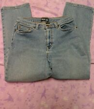 Women's style & co blue jeans size 8sp 28 x 26 stretch bootcut