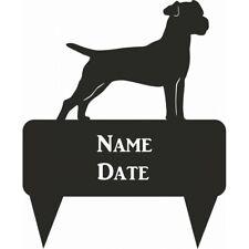 Patterdale Terrier Rectagular Memorial Plaque