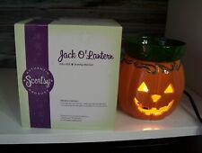 Scentsy Jack-O-Lantern Full Size Warmer Wax Pumpkin Halloween Decoration New