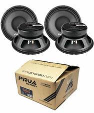 """4 x PRV Audio 10W650A 10"""" Sub Woofer Alto Pro Audio Bass Speaker 2600W 8 Ohm"""