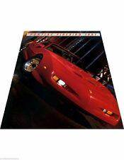 1991 Pontiac Firebird and Trans Am GTA Formula Car Sales Brochure Catalog