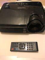😍 viewsonic ft dlp 3d retro / video projecteur pc mini usb rs 232 utilise 535h