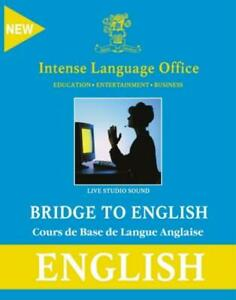 Bridge To English PC CD Intense Language Office Spanish learn speak foreign!