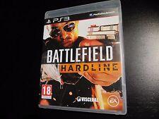 BATTLEFIELD HARDLINE Ps3 Pal España FÍSICO