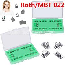 MIM Monoblock Bracket Passive Self Ligating Roth/MBT 022 Hook 345& Buccal Tube