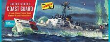 Lindberg 1:82 US Coast Guard Patrol Boat Plastic Model Kit 216 LND216