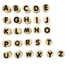 Holzstempel Buchstaben, Buchstabenstempel, Alphabet Stempel Holz, Stempel-Set