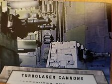 2016 Star Wars Rogue One Mission Briefing #7 Turbolaser Cannons Death Star