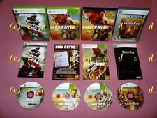 XBox 360 _Max Payne 3 & Saints Row & Splinter Cell Conviction _ sehr guter Zust.
