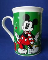 2013 Disney Mickey Mouse Christmas Gifts Coffee Mug Cup 10 Oz. Ceramic