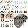 Fashion Women Acid Acrylic Geometric Pendant Dangle Drop Earrings Jewelry Gift