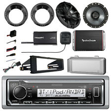 Radio + Kit, 2x Speakers + Adapter, Cover, Amp, Steering Interface, Tuner