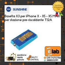 BASETTA X3 PER IPHONE X - XS - XS MAX PER STAZIONE PRE-RISCALDANTE T12A SUNSHINE