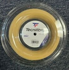 Tecnifibre NRG2 16 Gauge 1.32mm 660' 200m Tennis String Reel Natural