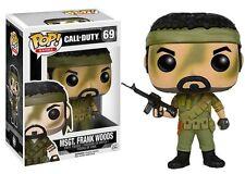 MSGT. Frank Woods Call of Duty Pop! Games Funko NIB new in box 69 Gamestop