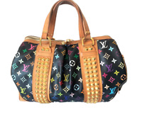 Authentic Louis Vuitton Takashi Murakami Courtney GM handbag