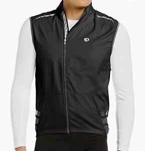 Pearl Izumi Elite Barrier Vest - Black/Grey- XL Extra Large MENS