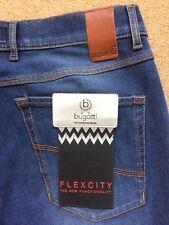 """Bugatti Men's Flexcity Modern Fit Blue Jeans, Tall Size W34"""" L34"""", £90"""