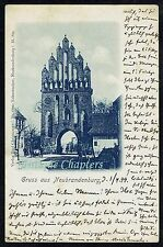 1899 Neubrandenburg Professor Hans von Arnim Rostock University Postcard B430