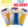 WISDOM Interdental Brushes 10-Pack Dental Care Brush Between Teeth Floss Oral