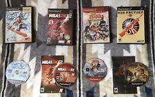 ps2 lot games Ssx3, Nba2k 12, Red Faction 2, Naruto Ultimate Ninja