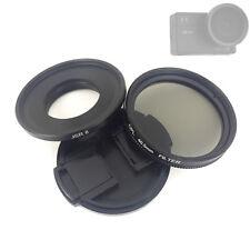 Glass CPL Filter + Lens Cap + Filter Adapter for SJCAM SJ8 Air Plus Pro Camera