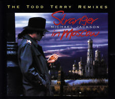 MICHAEL JACKSON - STRANGER IN MOSCOW THE TODD TERRY REMIXES CD SINGLE 7 TRACKS